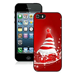 Personalized Iphone 5S Protective Case Merry Christmas iPhone 5 5S TPU Case 67 Black