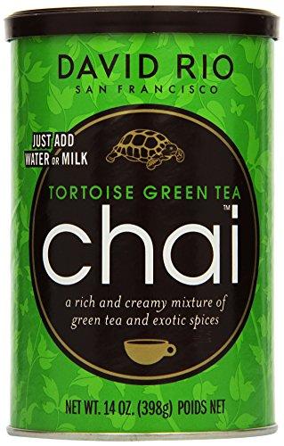 David Rio Consumer - Tortoise Green Chai, 1er Pack (1 x 398 g)