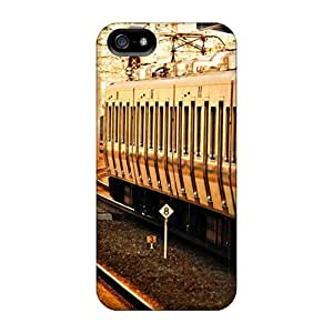 New Design Shatterproof For Ipod Touch 4 Phone Case Cover (train Station)