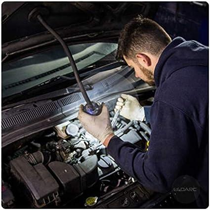 1000LM Projecteur de chantier ext/érieur LED garage IP65 bricolage chantier Support portable magn/étique avec bras articul/é id/éale pour travaux Batterie rechargeable 3.7volts EYE-LIGHT Plus