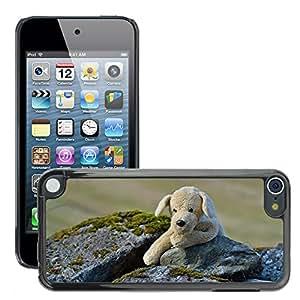 Etui Housse Coque de Protection Cover Rigide pour // M00117092 Felpa perro oso de peluche suave suave // Apple ipod Touch 5 5G 5th