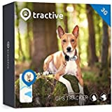 Tractive 3G Dog GPS Tracker – Lightweight and Waterproof Dog Tracking Device and pet Finder with Unlimited Range