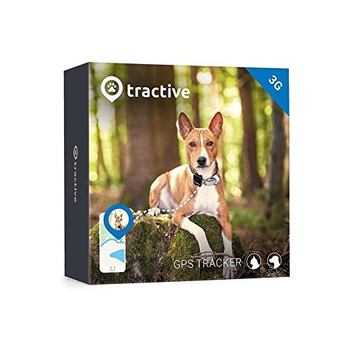 Tractive 3G GPS Dog Tracker - Dog Tracking Device with Unlimited Range
