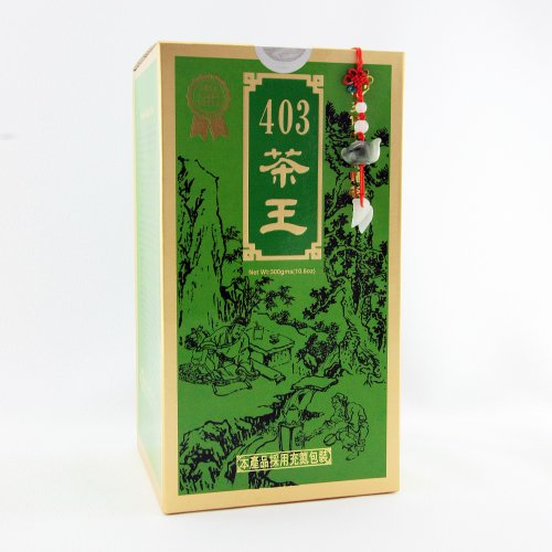 First Grade Green Tea / King's 403 Green First Grade Tea Loose Tea / 300g / 10.6oz.(Chinese Tea / Taiwanese Tea Bonus Pack) by Ten Ren