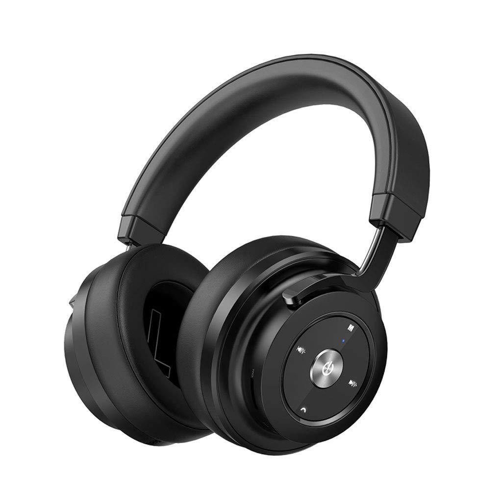 Zhengfangfang P20 Gaming Headset, Headset Wireless Bluetooth Computer Music Headset - Unisex Models (Color : Black)