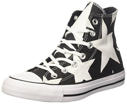 White Black Donna White Nero Sneaker Collo 156811c Converse Alto a wxB1qzzO