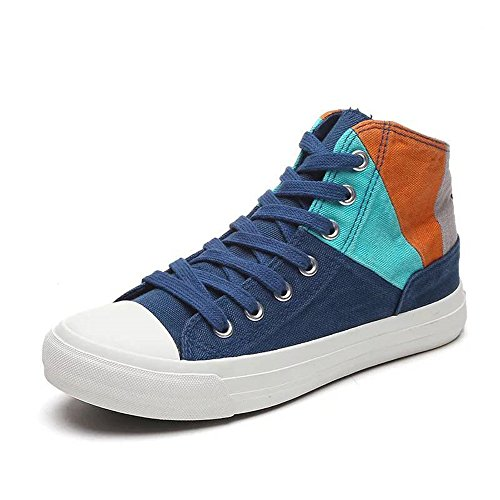 cheap Women's Shoes High Top Lace up Fashion Sneakers Hidden Wedges Slip-on Shoes