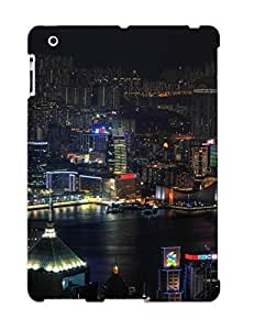 Hard Plastic Ipad 2/3/4 Case Back Cover, Hot New York City Case For Christmas's Perfect Gift