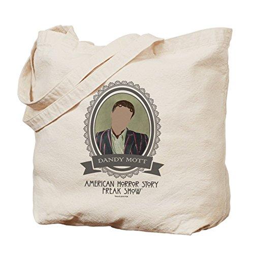CafePress–Dandy Mott–Borsa di tela naturale, panno borsa per la spesa