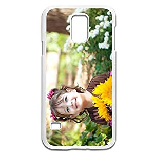 Samsung Galaxy S5 Cases Child Design Hard Back Cover Proctector Desgined By RRG2G