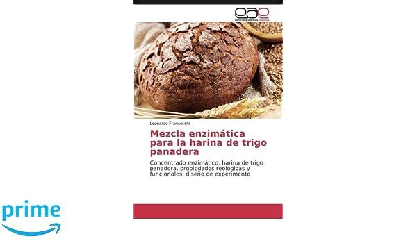 Mezcla enzimática para la harina de trigo panadera ...