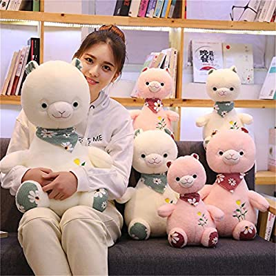 SXPC Cute Plush Soft Alpaca Pillow Doll Children's Gift Plush Toys: Sports & Outdoors