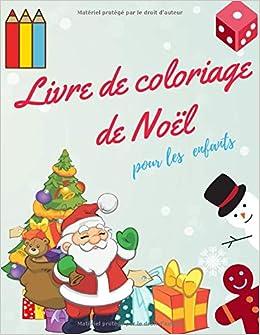Amazon.com: Livre de coloriage de Noël pour les enfants: livre de