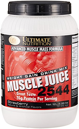 Ultimate Nutrition Muscle Juice 2544, Strawberry, 4.96 Pound