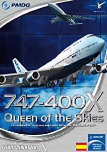 Extension de Flight Simulator Boeing 747-400 X de PMDG PC, en Español