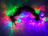 42 feet multi color decorative light, totally made in india product, use in party ,home decoration, diwali decoration, x-mas decoration, party functions.