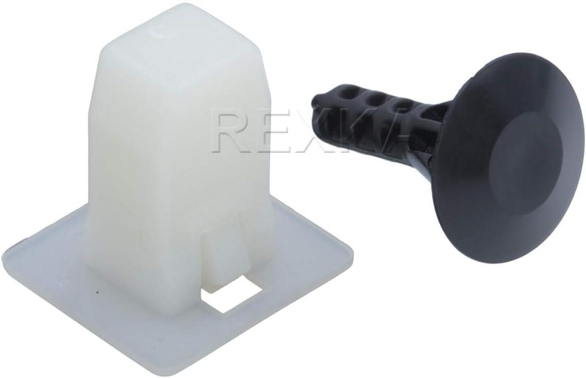10 Bumper Retainer Plastic Clip Fastener Rivet For Acura For Honda 90108-SW3-003