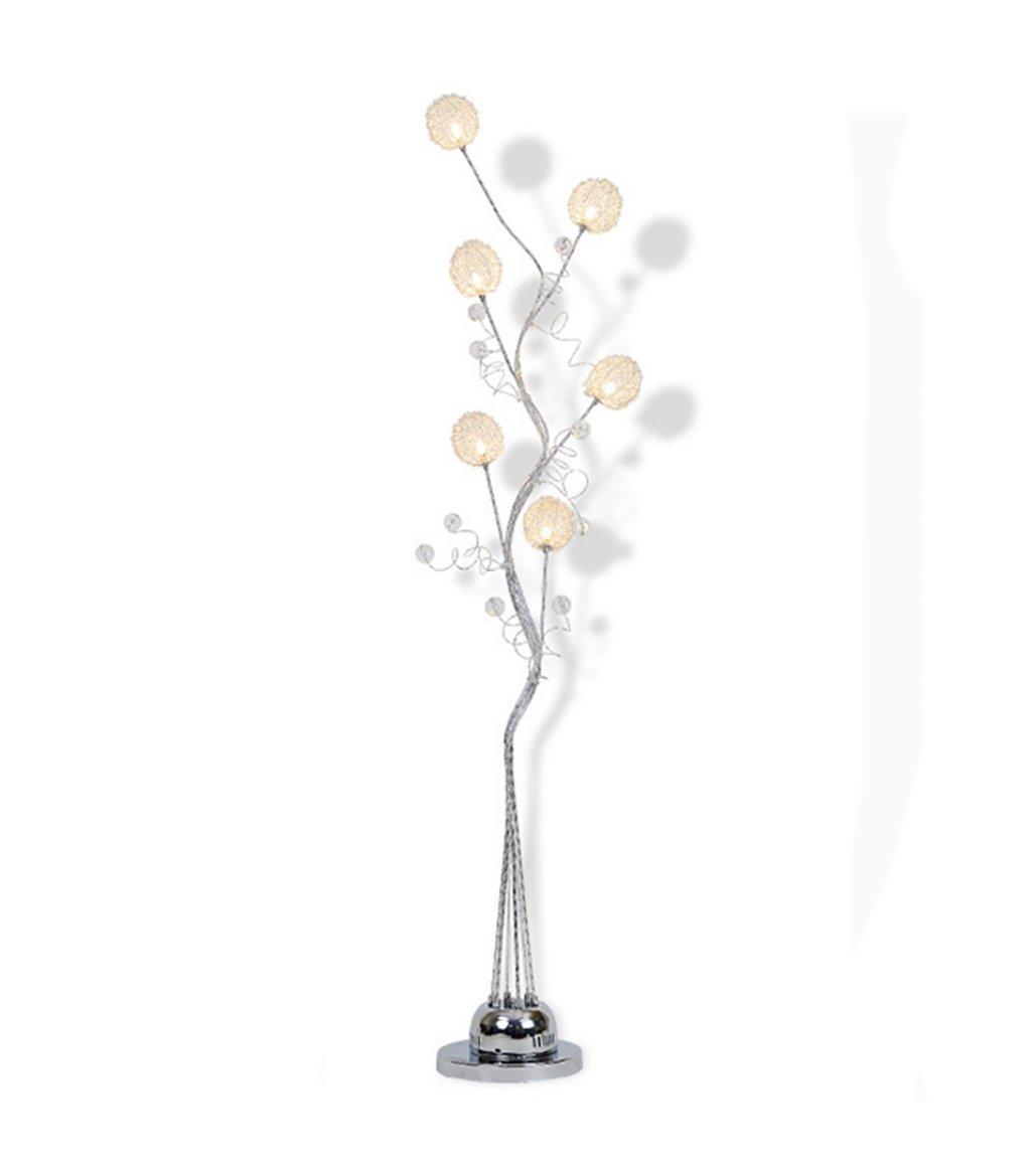 Stehlampen Stehleuchte Moderne kreative LED Stehleuchte Wohnzimmer Schlafzimmer vertikale Couchtisch Aluminium Stehleuchte (145 * 20cm) Stehlampe Schlafzimmer