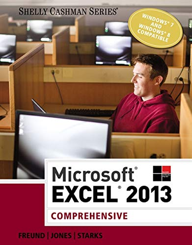 Microsoft Excel 2013: Comprehensive (Shelly Cashman Series)