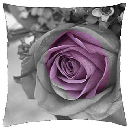 Amazon.com: Cenizas de rosas – Funda de cojín (18: Home ...