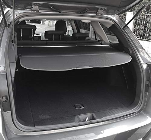 kaungka Updated Version:Cargo Security Rear Trunk Cover Retractable for 10-15 Lexus Rx350 Rx450H Cargo Cover Black (There is no Gap Between The Back Seats and The Trunk Cover)