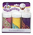 Wilton Kids Twisted Sprinkles Set, Bright Colors