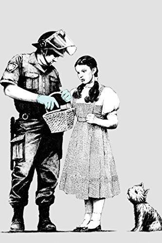 Banksy Dorothy Police Search Graffiti Cool Wall Decor Art Print Poster 24x36