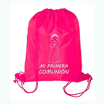 Bolsa con Cuerdas Mochila niña Primera Comunión. Lote de 10 ...