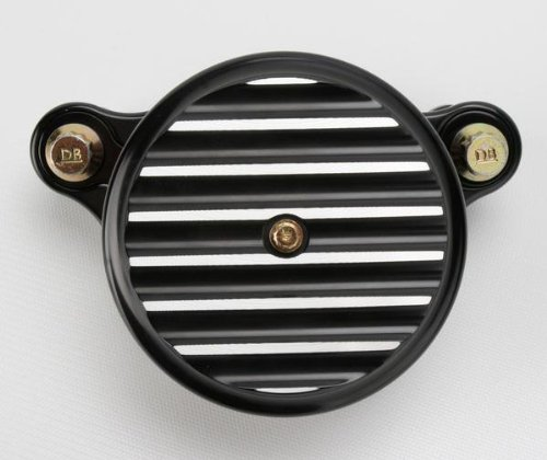 Joker MacHine High Performance Air Cleaner Assembly Finned Blk Ano H-D Twin Cam