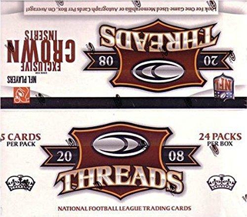 2008 Donruss Threads Football Factory Sealed Retail Box 2...