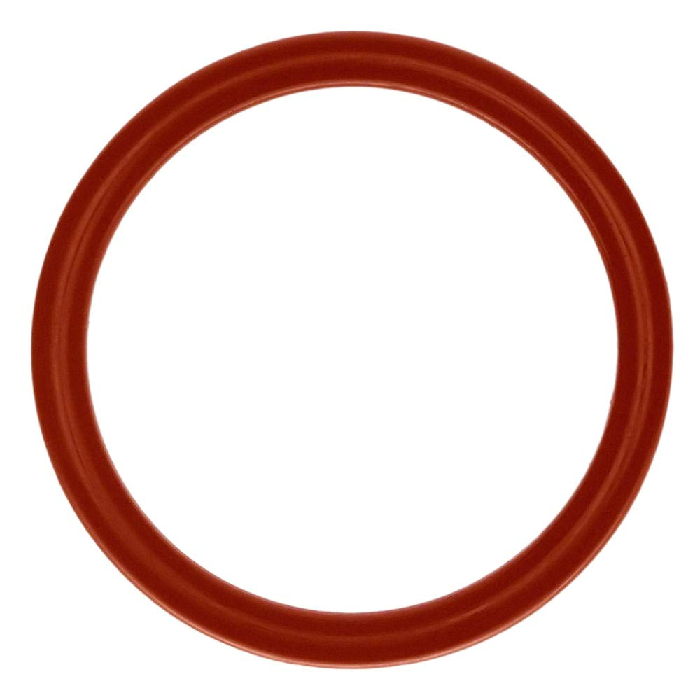 Pack of 500 Red 70A Durometer 204 Silicone O-Ring