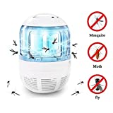 Blue Stones Electronic Bug Zapper Mosquito Trap Fly Insect Mosquito Killer USB UV Light Lamp With Escape Proof Mesh Light