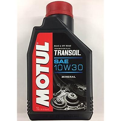 Motul Transoil 2T 4T Motorcycle Transmission Gearbox 10W30 1 Quart: Automotive