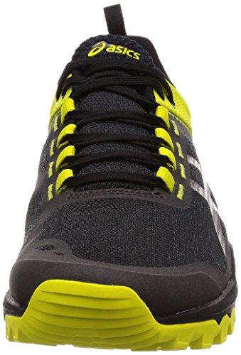 Asics Performance-Zapatillas de deporte. black-carbon-sulphur spring