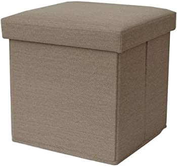 Mainstays Collapsible Linen Storage Ottoman