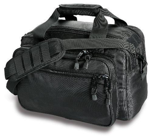 Deluxe Armor Pack - Uncle Mike's Law Enforcement Side-Armor Deluxe Range Bag, Black