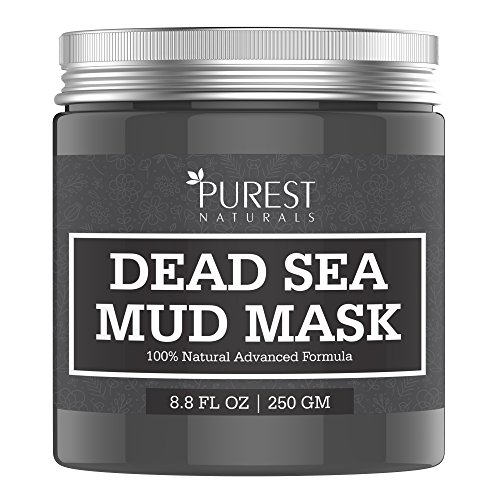 Aria Chocolate (Purest Naturals Dead Sea Mud Mask - Best Facial Mask For Acne, Oily Skin & Blackheads - 100% Natural & Organic Deep Skin Cleanser - Reduces Signs Of Aging, Pores)