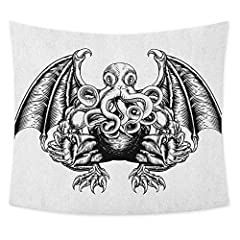 Made of high quality 100% polyester, it is soft and durable. Superb sewing and creative design make it an important element in your room decoration. Good drooping, suitable for hanging on the wall.              We use the latest printi...