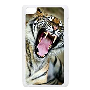 tiger for Apple iPod Touch 4 Custom Phone Case BHU390219
