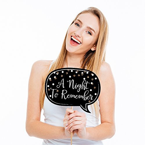 Big Dot of Happiness Prom - Photo Booth Prop Kit - 20 Count: Amazon.co.uk: Toys & Games