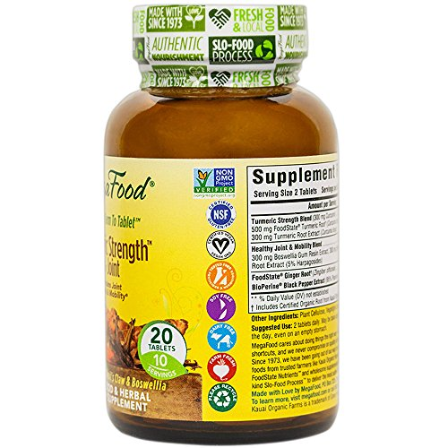 51bJfhHfEHL - MegaFood Turmeric Strength for Joint
