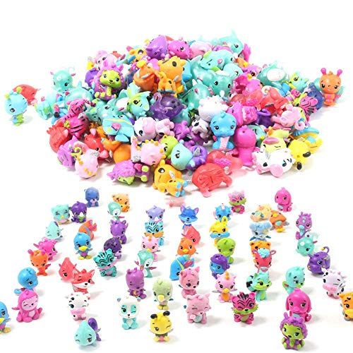 - QTFHR Cute Miniature Random Pet Doll, Mini Cute Pets Cake/ Plant/ Car Decoration (30 Pcs)