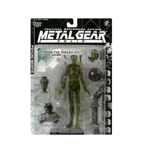 Metal Gear Solid Psycho Mantis (Clear Variant) Action Figure