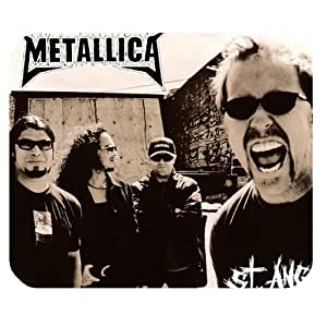 Custom Personalized Heavy Metal Metallica Unique Design Durable Printing Rectangle Mouse Pad