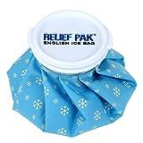 cap pack - Relief Pak English Ice Cap Reusable Ice Bag, 6