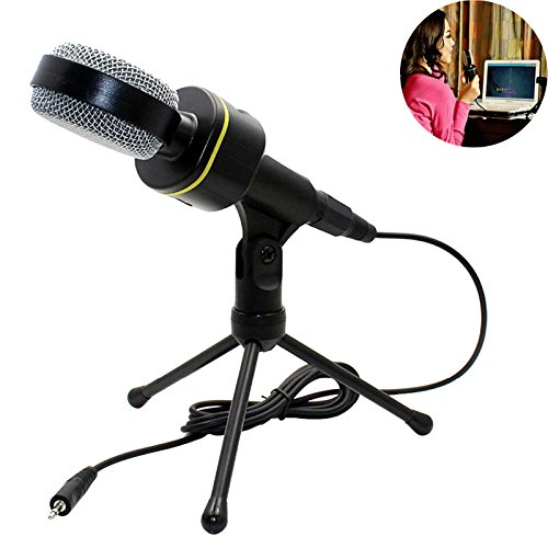 Jeystar SF-930 Professional Condenser Sound Microphone With Stand for PC Laptop Skype Recording by Jeystar (Image #1)