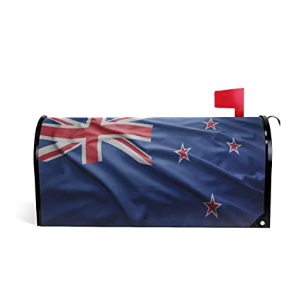 Amazon com: Printedin3D New Zealand Flag Magnetic Mailbox
