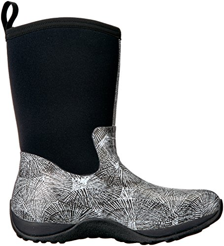 Black Winter Arctic Rubber Mid Spiral Height Muck Boots Weekend White Women's xqA6f4wxPn