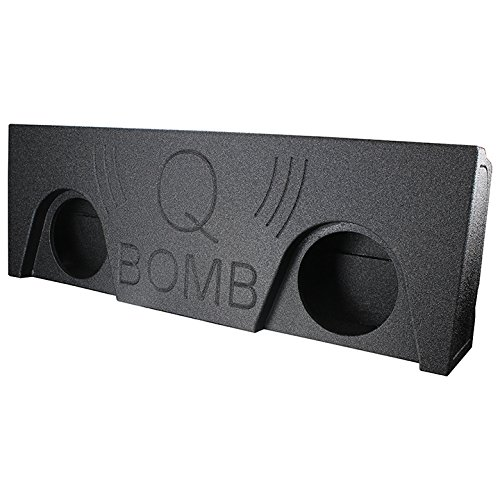 Q Power 2 Hole 2014-2016 GM/Chevy Crew Cab 10'' Ported Subwoofer Box | QBGMC14210 by Q Power