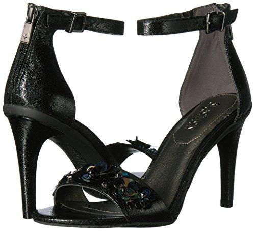 con Mujer para de tacón Dos Sandalia Puntera Abierta Piezas REACTION Alto Cole Stiletto Vestir Negro Sandalia Kenneth BwxqZCIq